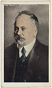 Card No. 6, President Poincare of France, from the World War I Scenes series (T121) issued by Sweet Caporal Cigarettes