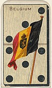 Belgium, from the National Flag on Domino series (T177) issued by Kinney Brothers to promote Sweet Caporal Cigarettes