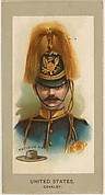 Fatigue Hat, Cavalry, United States, from the Military Uniforms series (T182) issued by Abdul Cigarettes