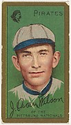 J. Owen Wilson, Pittsburgh Pirates, National League, from the