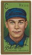 Robert H. Bescher, Cincinnati Reds, National League, from the