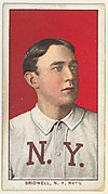 Bridwell, New York, National League, from the White Border series (T206) for the American Tobacco Company