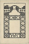 Ornament Card with Garden (Schmuckkarte mit Garten)