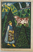 Alpine Herdswoman
