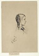 Portrait of Miss Marion Melville