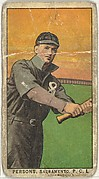 Persons, Sacramento, Pacific Coast League, from the