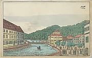 Old Karlsbad: The Saxon Hill and Its Surroundings (Der Sächsische Saal mit Seiner Umbegung in Alt-Karlsbad)