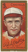Rehel Oakes, St. Louis Cardinals, National League, from the