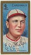 Edward J. Phelps, St. Louis Cardinals, National League, from the