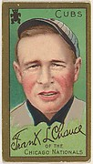 Frank L. Chance, Chicago Cubs, National League, from the