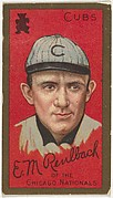 Edward M. Reulbach, Chicago Cubs, National League, from the