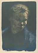 Working Woman with Blue Shawl (Brustbild Einer Arbeiterfrau Mit Blauem Tuch)