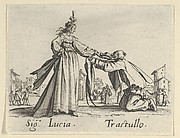 Sig. Lucia - Trastullo, from the Balli di Sfessania