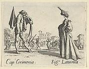 Cap. Cerimonia - Sig. Lauinia, from the Balli di Sfessania