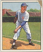 Johnny Schmitz, Pitcher, Chicago Cubs, from the Picture Card Collectors Series (R406-4) issued by Bowman Gum