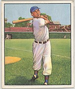 Hank Sauer, Outfield, Chicago Cubs, from the Picture Card Collectors Series (R406-4) issued by Bowman Gum