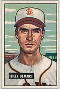 Billy Demars, Infield, St. Louis Browns, from Picture Cards, series 5 (R406-5) issued by Bowman Gum