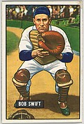 Bob Swift, Catcher, Detroit Tigers, from Picture Cards, series 5 (R406-5) issued by Bowman Gum