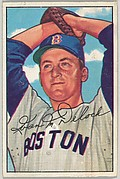Ivan Delock, Pitcher, Boston Red Sox, from Picture Cards, series 6 (R406-6) issued by Bowman Gum