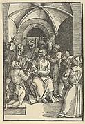 The Mocking of Christ, from Speculum passionis domini nostri Ihesu Christi