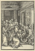 Christ Washing Saint Peter's Feet, from Speculum passionis domini nostri Ihesu Christi