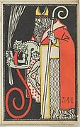 St. Nicholas and Krampus Card