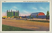 Travel and Transport Building, from the Chicago World's Fair series (PC225-1)