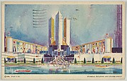 Federal Building and States Group, from the Chicago World's Fair series (PC225-1)