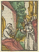 Christ Healing the Leper, from Das Plenarium