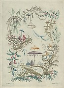Chinoiserie from Nouvelle Suite de Cahiers Arabesques Chinois