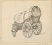 Study of a Covered Wagon
