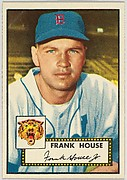 Card Number 146, Frank House, Detroit Tigers, from the Topps Baseball series (R414-6) issued by Topps Chewing Gum Company