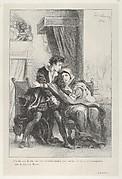 Hamlet and the Queen (Hamlet, Act 3, Scene 4)