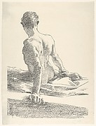 Study of a Young Man, Seen from the Back