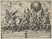 Triumph of the World, from The Cycle of the Vicissitudes of Human Affairs, plate 1