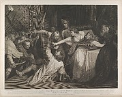 Mary, Queen of Scots witnessing the murder of David Rizzio