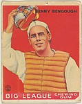 Benny Benough, St. Louis Browns, from the Goudey Gum Company's Big League Chewing Gum series (R319)