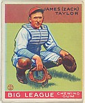James (Zack) Taylor, Chicago Cubs, from the Goudey Gum Company's Big League Chewing Gum series (R319)