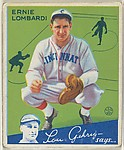 Ernie Lombardi, Cincinnati Reds