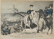 Washington Crossing the Delaware–Evening Previous to the Battle of Trenton, December 25th, 1776
