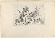 Bacchant, Satyr, and Fauness, from the Scherzi