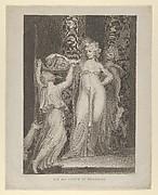 The Daughter of Herodias (Salome Receiving the Head of John the Baptist, Matthew 14:10-11)