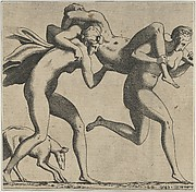 Woman Being Carried to a Libidinous Satyr