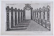 Plate XII: Caesares, from 'Descriptio Publicae Gratulationis Spectaculorum et Ludorum, in Advent Sereniss'