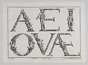 Alphabet Letters (5 Vowels)