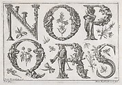 Decorated Roman alphabet