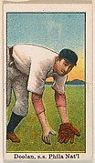 Doolan, Shortstop, Philadelphia, National League, from the 50 Ball Players series (E101)
