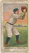 Jacklitsch, Catcher, Philadelphia, National League, from the 50 Ball Players series (E101)