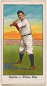 Dooin, Catcher, Philadelphia, National League, from the 50 Ball Players series (E101)