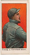 Young, Pitcher, Cleveland, American League, from the 50 Ball Players series (E101)